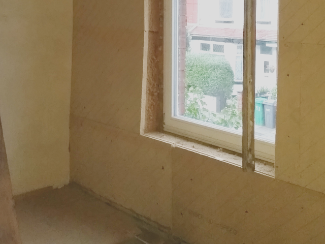 delamere road - internal wall insulation | RED