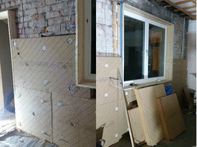 beech road - internal wall insulation | RED