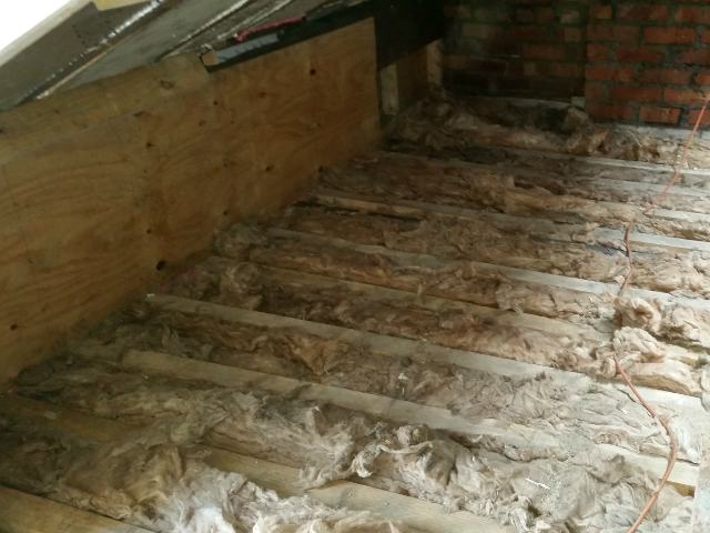 rear floor insulated