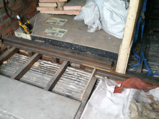 steel beam floor